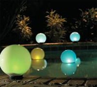 outdoor solar light - Outdoor solar light: The MagicGlobe Solar Sphere