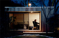 prefab home ecospace 2 - Prefab outdoors modular home by ecospace