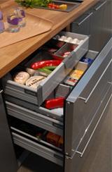 Kitchen Design Idea Drawer Fridge Appliances