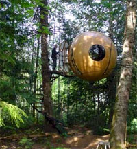 tree house design - Tree house sphere design