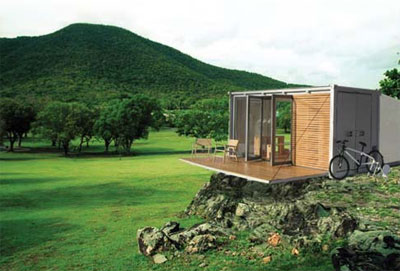 prefab cabins the all terrain cabin - Prefab Modern Cabin