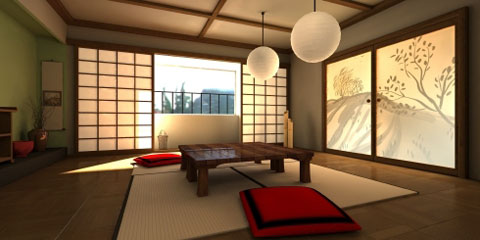 Traditional Japanese Architecture Interior Design