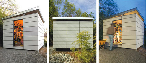 ModernShed Outdoor storage sheds Prefab Shed