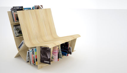 small houses bookseat - Bookseat