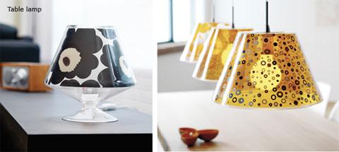unique lamps leklint 2 - Unique lamp shades Le Klint