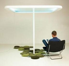 parasol-lumineux-lamp