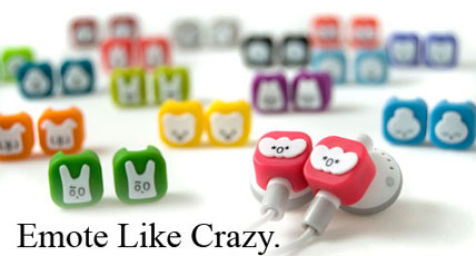 emotibuds headphones - Emotibuds: Cute & Funky Charms