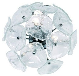 glass wall lamp lalique - Lalique glass wall lamp