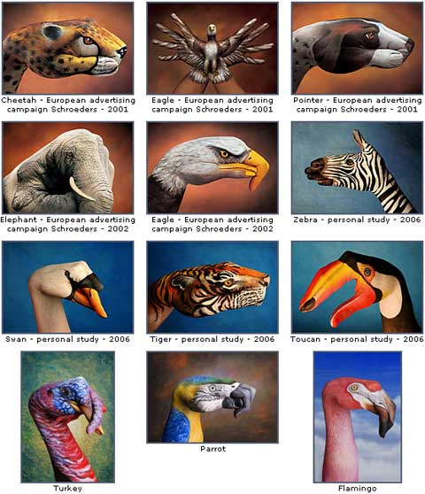 hand paintings daniele 2 - Hand paintings by Guido Daniele