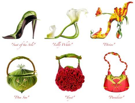 shoe-fleur