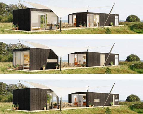 Modular home momo prefab homes for Architect designed modular homes