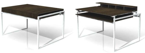 Small Spaces Folding Table Furniture
