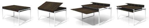 small spaces table - Small spaces Folding Table