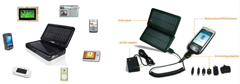 solar phone charger icetech - Solar cell phone charger reviews continued