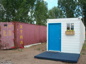 Shipping Container Homes | Small shipping container homes | Busyboo