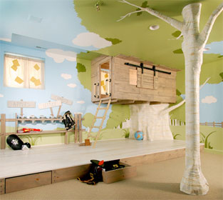 Magic Tree House Room Kids Treehouse Design