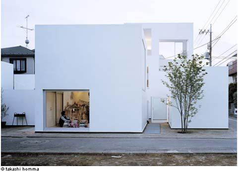 prefab house moriyama 02 - Japanese prefab Moriyama House