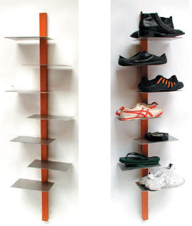 Pdf diy shoe shelf design download simple bird house design woodideas - Shoe rack for small spaces image ...