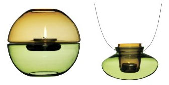 hanging tealight holders - Glass tealight holders