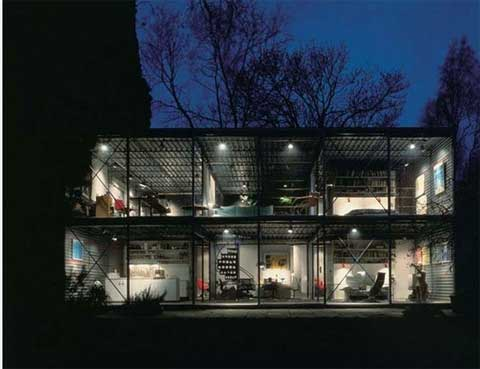 Modern Architecture | Hopkins steel and metal house | Busyboo