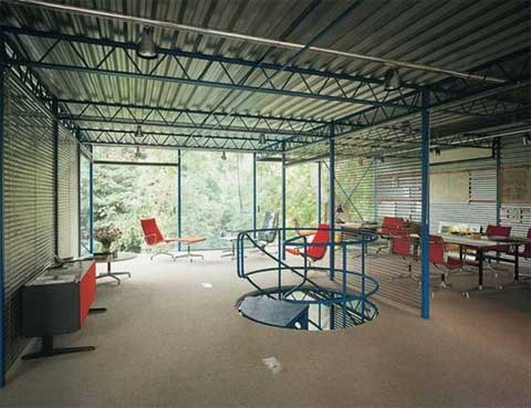 Hopkins steel and metal house modern architecture for Zeb pilot house floor plan