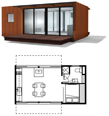 Modular weehouse shipping container homes for Prefab home plans designs