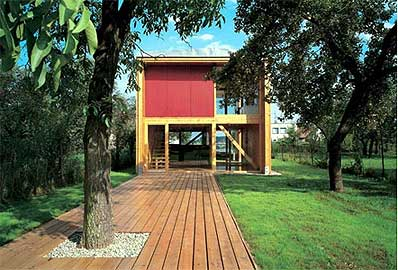 Modern Home Design Plans on It Seems As If This Small House Design Only Enhances The