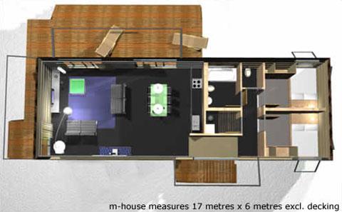 Prefab M House Plan