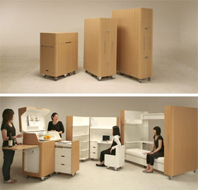 Home Design Furniture on Japanese Designers Atelier Opa Created A Unique Set Of Products Which