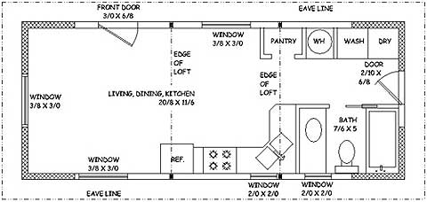 Cottage Home Plans, Small House Plans, Cabin Plans, Small Homes by
