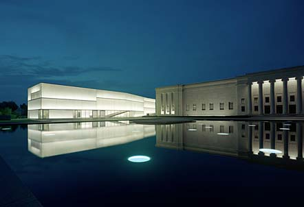 excellent photo of the Nelson-Atkins Museum of Art new Bloch Building