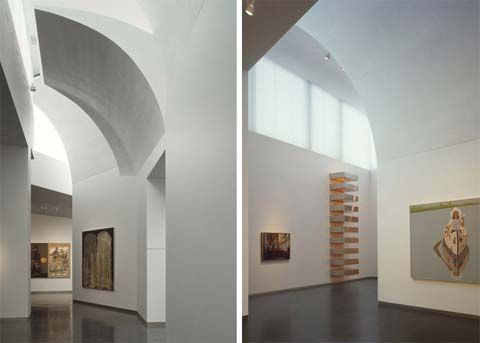 Steven Holls Nelson Atkins Museum Uses Curved Columns And Walls To Direct Natural Light Into The