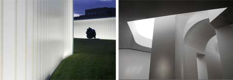 modern architecture holl 05 - Nelson-Atkins Museum of Art architecture