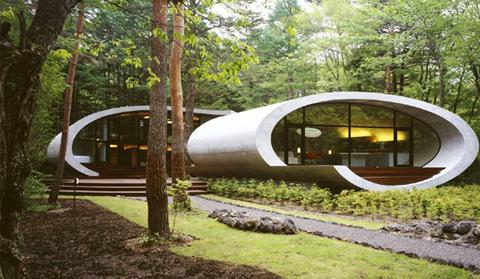 Beautiful Japanese Homes japanese shell house - japanese architecture