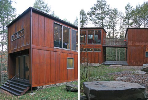 Johnson creek weehouse prefab cabins - Container homes seattle ...