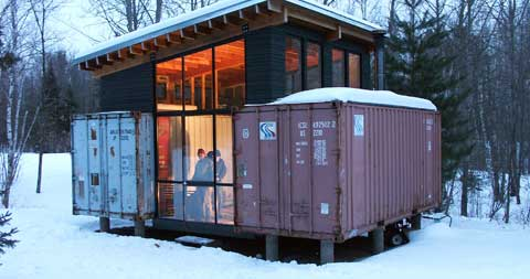 Holyoke Container Cabin Shipping Container Homes