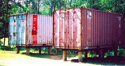 Holyoke container cabin shipping container homes for Hive container homes