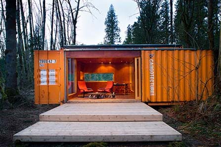 Container homes HyBrid Seattle