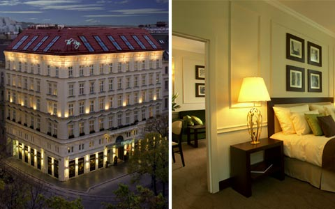 The ring vienna 39 s casual luxury hotel boutique hotels for Boutique hotel vienne