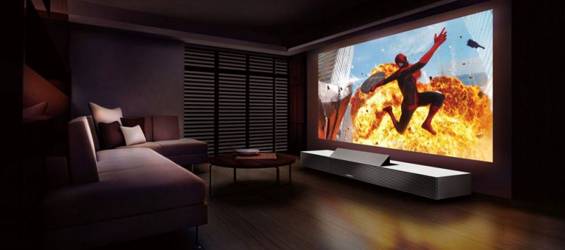4k projector sony 800x354 - Sony 4K Ultra Short Throw Projector