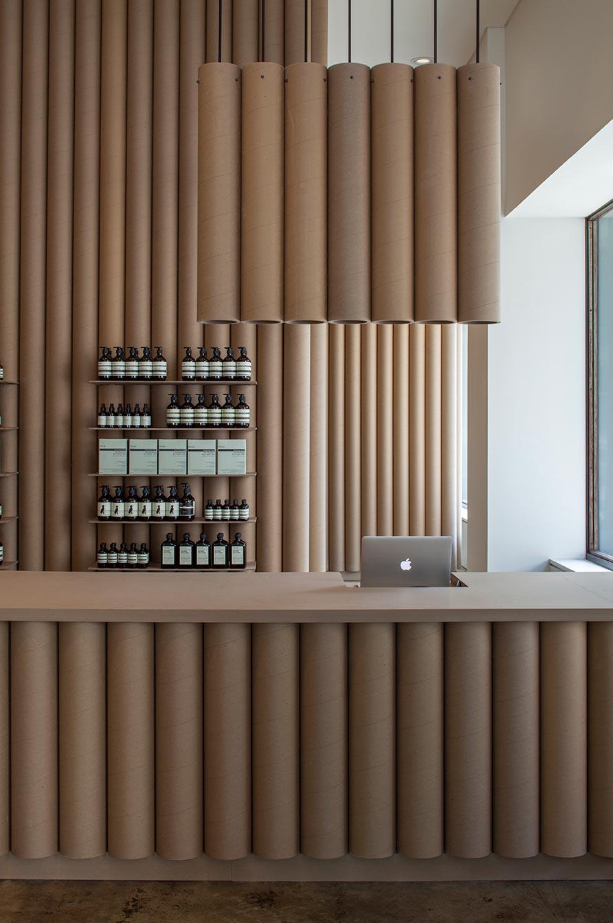aesop store interior design bs5 - Aesop DTLA