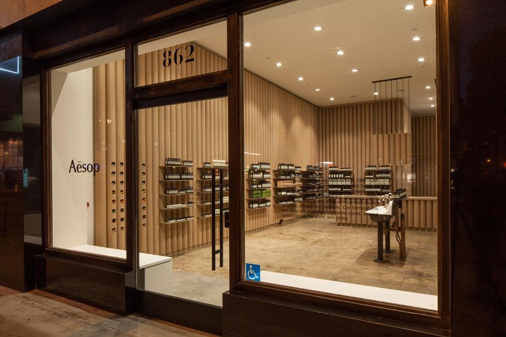 aesop store interior design bs8 - Aesop DTLA