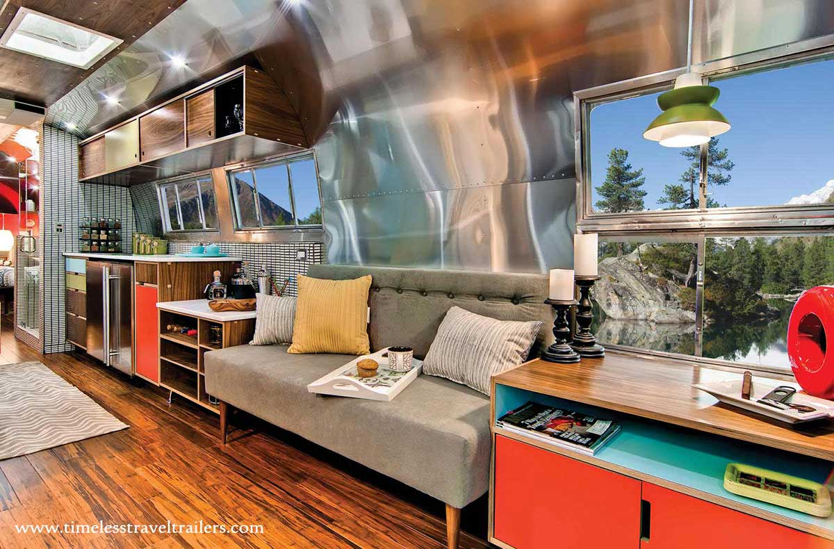 Amazing Airstream Restoration By Timeless Travel Trailers