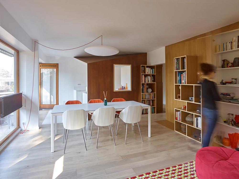 apartment design paris h2o 1 1000x749 - Apartment in Sceaux