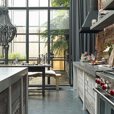 Jordaan apartment comfortable industrial charm for Design apartment jordaan