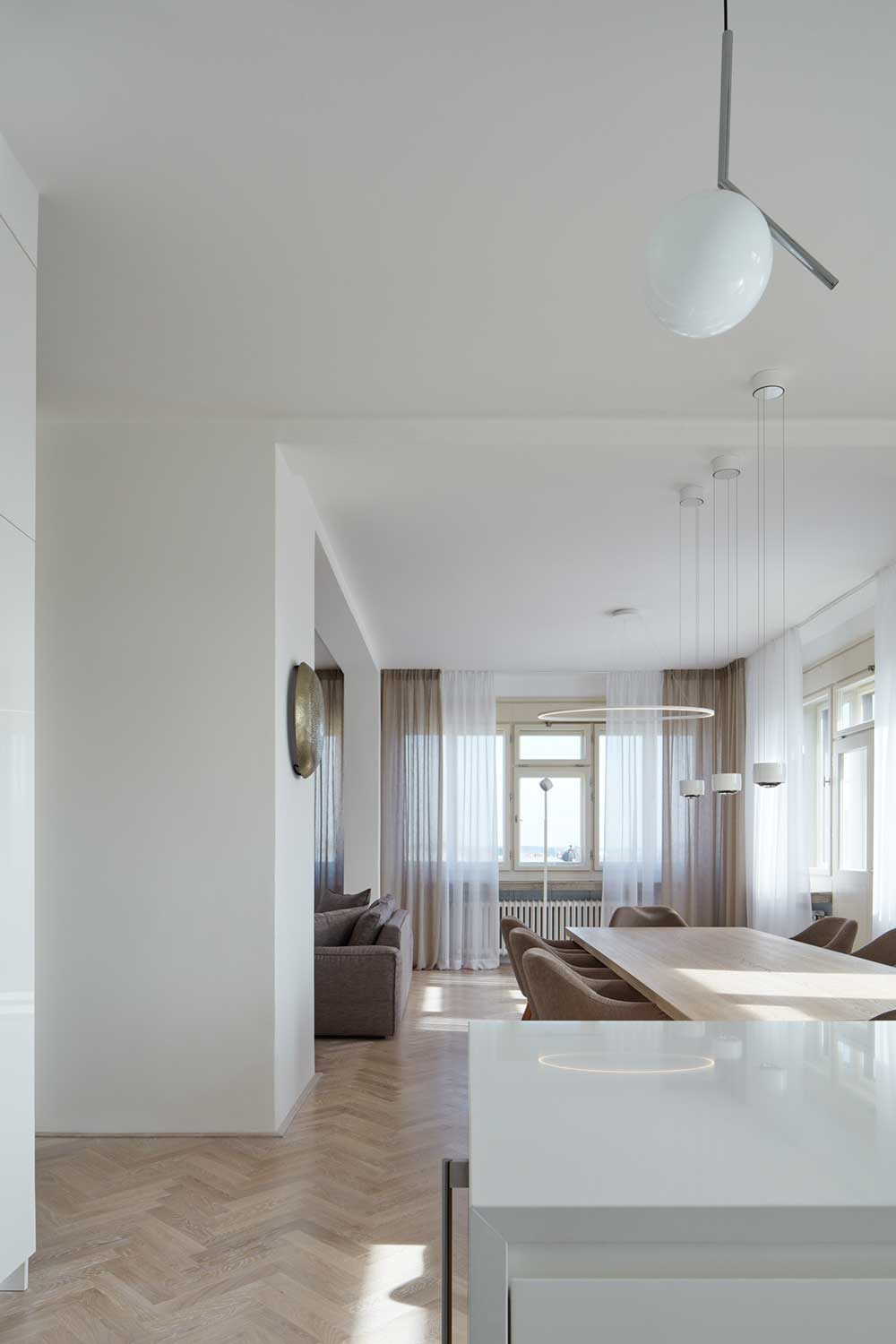 Apartment Interior Renovation In A Protected Building