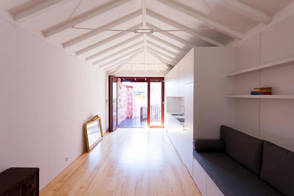 apartment renovation open space pg - Caldeireiros Houses