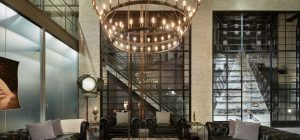 art deco industrial interiors chandelier 300x140 - Waterworks