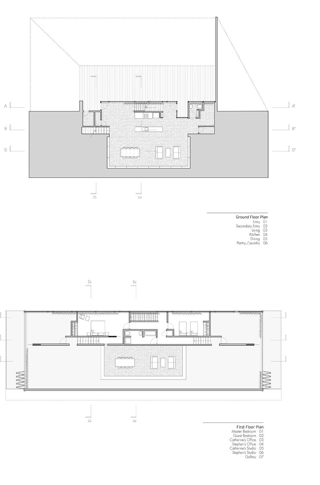 The hendee borg house see the light modern architecture for Zeb pilot house floor plan
