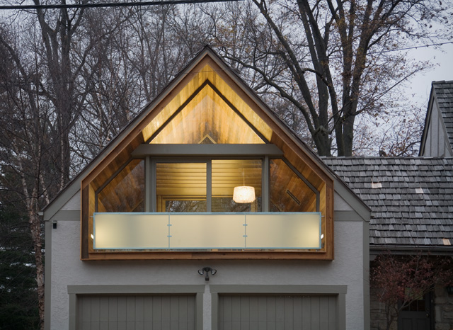 attic extension tyler1 - Tyler Residence: Simplicity in the Suburbs